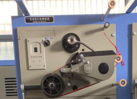 Textile Yarn Cone Winding Machine , Digital Thread Cross Cone Winder